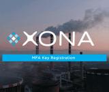 MFA Key Registration with XONA